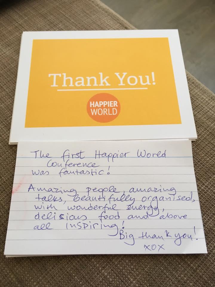 Happier World feedback